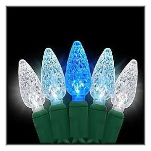 ColorWave™ Blue to White LED 35 Light Set