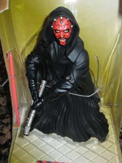 Applause Star Wars Darth Maul 9 Inch Figure with glow in the dark