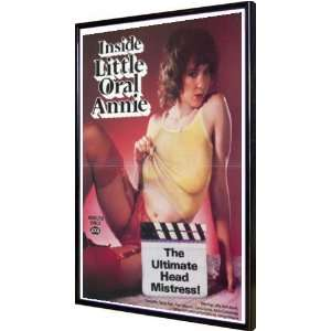 Inside Little Oral Annie 11x17 Framed Poster: Home
