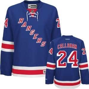 Ryan Callahan Womens Jersey Reebok #24 Blue New York Rangers Jersey