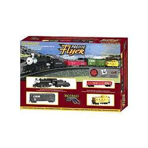 Trains Pacific Flyer Ready to Run HO Scale Train Set: Toys & Games