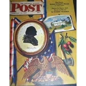 Post (February 24, 1945, The Washington Plaque) John Atherton Books