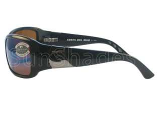 Costa del Mar Gatun Black Green Mirror 580 Sunglasses