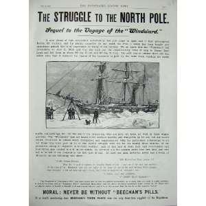 Advertisement North Pole BeechamS Pills Ship Snow