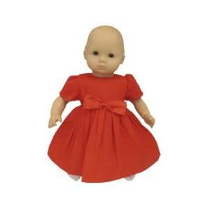 American Girl Doll Clothes Red Holiday Dress for Bitty Toys & Games