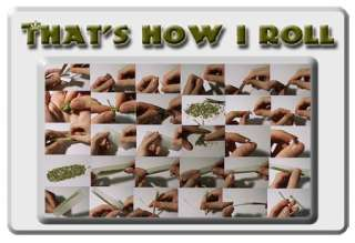 HOW I ROLL T SHIRT Joint Rolling Pot Marijuana Weed NEW