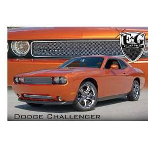 DODGE CHALLENGER 2011 2012 CHROME FINE MESH GRILLE GRILL