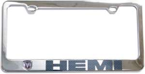 Dodge Ram Challenger Charger HEMI License Plate Frame