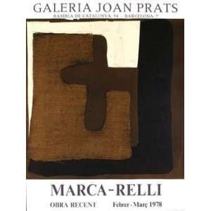 Marca relli   Galeria Joan Prats