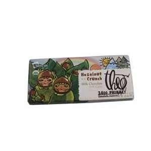 Organic & Fair Trade Theo Hazelnut Crunch Milk Chocolate Bar
