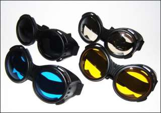 Big Goggles Cyber Goth Rave Wear Clothing Anime Cosplay