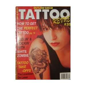 Outlaw Biker Tattoo Revue Magazine White Zombie (May, 1994