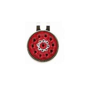 Blingo Red Ladies Golf Ball Marker: Sports & Outdoors