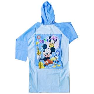 MTv94 Disney Mickey Mouse Kids PVC Raincoat Clothing