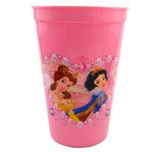 Disney Princess Pink Plastic Drinking Cup
