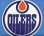 1980s Edmonton Oilers NHL WHA Oficial CCM Jersey Patch Wayne Gretzky