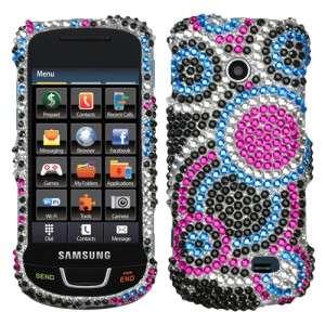 Diamond BLING Hard Case Phone Cover Straight Talk Samsung T528g
