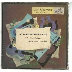 Strauss Waltzes Arthur Fiedler, Boston Pops Orchestra Music