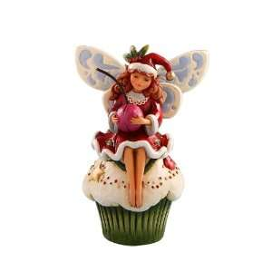 Jim Shore Heartwood Creek from Enesco Fairy on Christmas