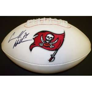 Williams Autographed Tampa Bay Bucs Football