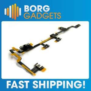 iPad 2 Power Volume Flex   On Off Control Cable Ribbon Button Mute