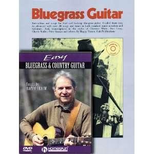 Happy Traum Bluegrass Pack Includes Bluegrass Guitar book