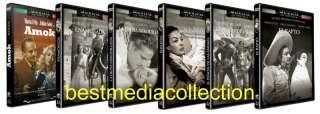 MARIA FELIX ENAMORADA Y MAS SET DE 6 PELICULAS NEW DVD