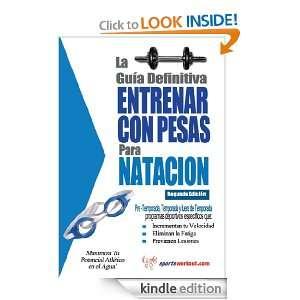 guía definitiva   Entrenar con pesas para natacion (Spanish Edition