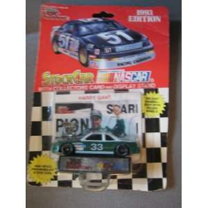 1993 Harry Gant #33 die cast with collectors card and