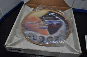 Ernst STAR TREK PLATE 1985 ENTERPRISE PLATE NEW
