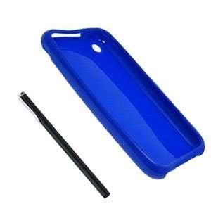 Modern Tech Blue Gel Skin/ Case & Capacitive Stylus for Apple
