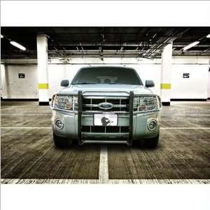Black Horse Stainless Steel Grill Guard 08 11 Ford Escape Automotive