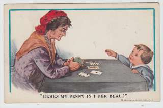 Twelvetrees Heres My Penny Is I Her Beau? Fortune Teller & Cards