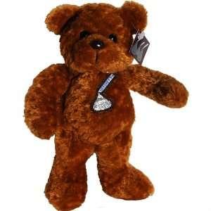 Hersheys Brown Kiss Teddy Bear   Hersheys Bean Bag Plush