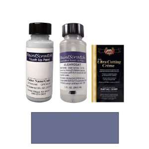 Oz. Medium Blue Metallic Paint Bottle Kit for 1988 Nissan Stanza