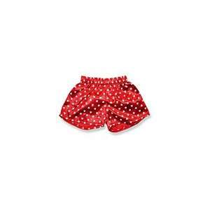 Personalized Red Bear Boxers with White Hearts http//www