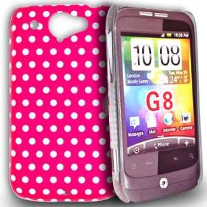 mobile palace   Pink and White (dot) design hard case