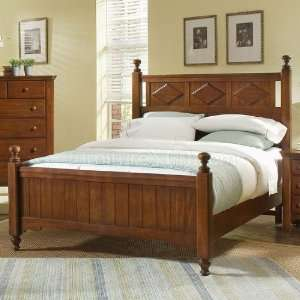 Alexander Julians Cottage Poster Bed (Heartland Cherry