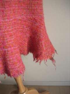 WATANABE PINK TWEED skirts Comme des Garcons Yohji TAO LIMI feu