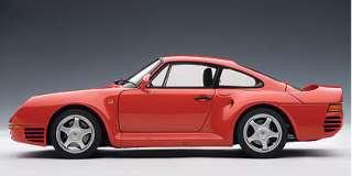 18 Porsche 959 Red Autoart Diecast Model Turbo 4WD