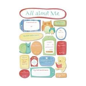 Karen Foster Babys First Cardstock Stickers 5.5X9 All