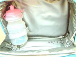 Little Twin Stars Insulated Lunch Box Bag + Bottle SET