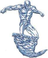 Marvel Comics X Men Classic Ice Man Flying Patch