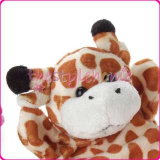 Giraffe Animal Glove Hand Puppet Plush Cute CHILD Toy