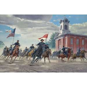 with Destiny   Mort Kunstler   Civil War Military Art Home & Kitchen