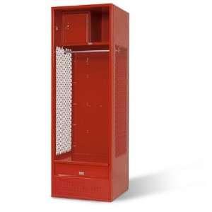 18D Stadium Locker with Shelf, Foot Drawer and Box