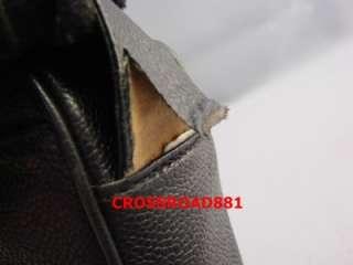 Auth Chanel Black Caviar Skin Shoulder Bag Fair Condition