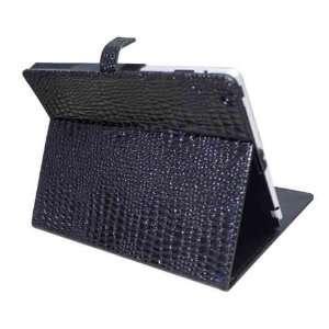 Koolertron Black Crocodile Pattern PU Leather Housing Faceplate