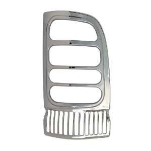 Bully TLB26822 Chrome Tail Light Bezel Cover   Pack of 2
