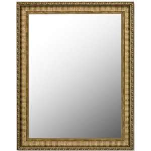 Lewes Aged Antiqued Gold Mirror